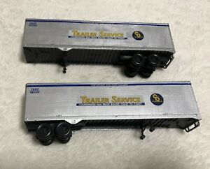 C&O TRAILERS HO (LOT OF 2)