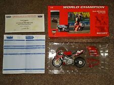 Minichamps 1/12 Ducati 996 World Champion 1999 Carl Fogarty *SIGNED* with certif