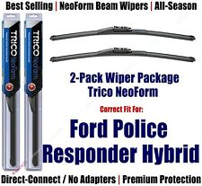 2pk NeoForm Wipers fit 2019+ Ford Police Responder Hybrid- 162613x2