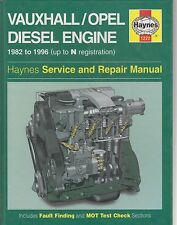 VAUXHALL OPEL BEDFORD 15D 15DT 16D 16DA 17D DR DT DTL ENGINE REPAIR MANUAL * NEW