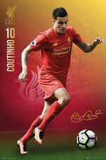 PHILIPPE COUTINHO 2017 - LIVERPOOL POSTER - 24x36 - FOOTBALL SOCCER 34157