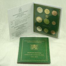 Vatican 3,88 + Pièces de Monnaie Série Légale KMS 2018 Bu Pc