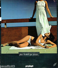 PUBLICITE ADVERTISING 036  1978  Arabel   robe de plage maillot de bain