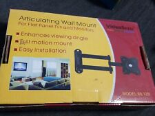 """Articulating Swing Arm 15"""" TV Wall Mount Full Motion Swivel LCD LED Monitor Flat"""