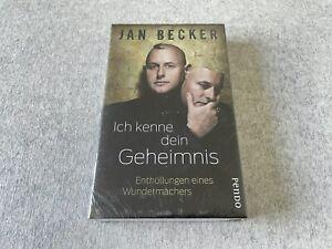 NEU • Ich kenne dein Geheimnis (Buch von Jan Becker) • OVP IN FOLIE