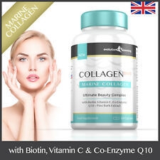 Collagen Bio-10 Marine Collagen, Biotin & Q10 *60 CAPSULES* Hair, Skin & Nails