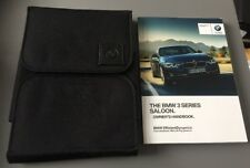 BMW 3 SERIES SALOON F30 OWNERS MANUAL HANDBOOK / FOLDER BOOK PACK SET 2012-2018