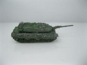 Modell -H0 1:87- Bundeswehr - Leopard 2 A6 - Kampfpanzer - tarn gesupert - 3