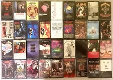 36 cassette tapes, Metallica Megadeth GNR Anthrax Iron Maiden Slayer & many more