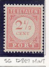 Dutch Indies 1913-39 Port Postage Due Issue Fine Mint Hinged 2.5c. 163424