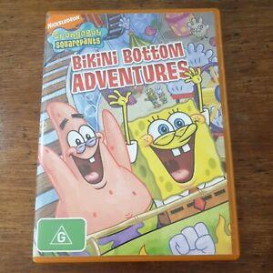 Spongebob Squarepants Bikini Bottom Adventures DVD R4 Like New! FREE POST