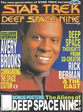 Star Trek Deep Space Nine Official Magazine Volume 2 Includes Poster