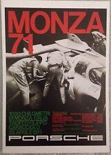 Porsche 1971 Monza Postcard 1st On eBay Car Poster. Own It