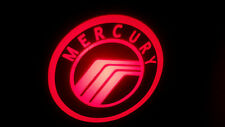 2PC RED MERCURY 5W LED EMBLEM DOOR PROJECTOR GHOST SHADOW PUDDLE LOGO LIGHT