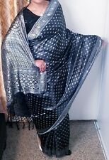 Banarasi Saree silk sari indian ethnic tradition Bridal PartyWear Dress fabric