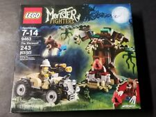 LEGO 9436 Monster Fighters Werewolf Major Quinton Steel MINIFIGURES Sealed NEW