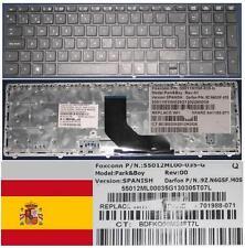 Qwertz-tastatur Spanisch HP ProBook 6560B 55012ML00-035-G 9Z.N6GSF.40S