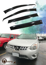 For Nissan ROGUE 07-13 Deflector Window Visors Guard Vent Weather Shield
