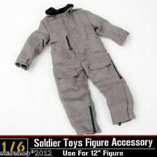 "1/6 Scale Dragon WWII US Tank Crews Coverall Jacket Coat Toy F 12"" Figure Bodies"