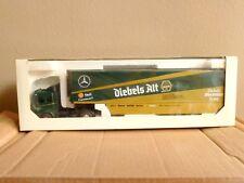 Vtg Louis Surber Diecast 1:43 Scale Mercedes Benz Semi Truck Diebels Alt Trailer