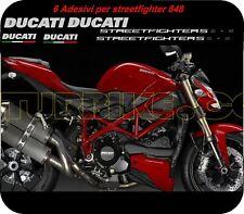 """Kit adesivi  compatibile Moto Ducati Streetfighter 848/1098 """"V198"""""""