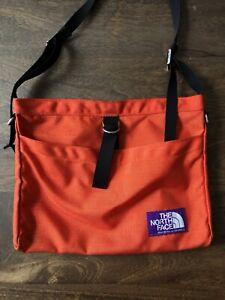 north face purple label orange pouch bag supreme orange Japan Limited Edition