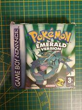 POKEMON EMERALD Nintendo Gameboy ADVANCE Game boy GBA NEW BOX ONLY