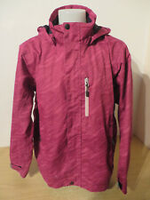 ICEPEAK ° gebr. Regenjacke Gr. 140 pink Kapuze Mädchen Kleidung Jacke Anorak