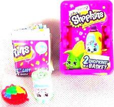 Shopkins Season 2! Mystery Basket 2 Figures Bart Beans & Fifi Fruit Tart RARE~