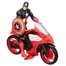 Marvel Avengers TITAN Hero Series Iron Patriot Figure With Arc Thruster Jet Vehi