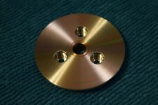 Thorens TD124 Top Platter Adapter Disc by Mirko allows any small hole mat use