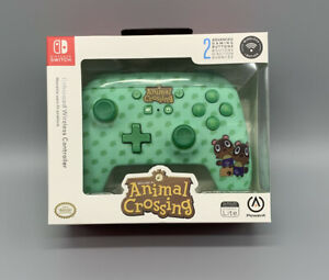 NEW Animal Crossing Controller Nintendo Switch Timmy&Tommy Nook Wireless PowerA