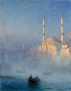 Ivan Aivazovsky Constantinople Giclee Art Paper Print Poster Reproduction