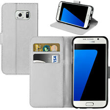 Leather Book Wallet Magnetic Flip Pouch Case Cover for Samsung Galaxy S3 I9300 White