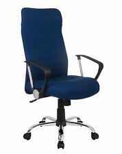 SixBros. Silla de Oficina Silla Giratoria Azul H-935-6/2467