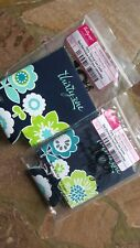 New listing Thirty One 31 Party Thermal Can Coolers Best Buds #832C Blue Green Floral Koolie