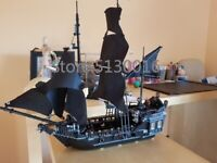 Captain Jack Sparrow's Black Pearl Pirates of the Caribbean Ship Lego