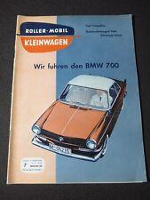 Roller Mobil Kleinwagen Heft 7 1959 BMW 700 Zündapp Janus Oldtimer