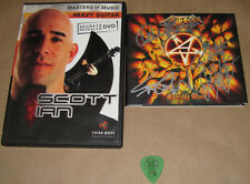 Anthrax Signed Worship Music CD, Masters of Music DVD Scott Ian,etc, USC#920