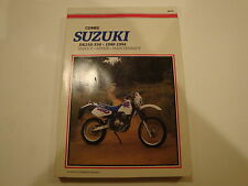 90-94 Clymer Suzuki DR250 Service Repair Maintenance Manual DR350 DR 250 350