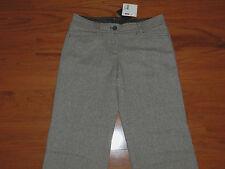 NWT Esprit Brown Tweed Wool Blend Dress Pants - Women Size 8 - MSRP = $99.50