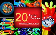 Paw Patrol- 20 Party Favors Combo-Toys Birthday Prizes Pinata Dogs Easter Filler