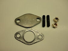 66-71 Mopar 426 Hemi Cuda Exhaust Manifold Heat Tube Block Off Plate Set