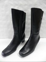 Bottes AMOIA Gifon noir FEMME taille 40 boots woman leather cuir black NEUF