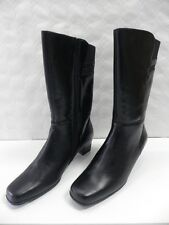 Bottes AMOIA Gifon noir FEMME taille 41 boots woman leather cuir black NEUF