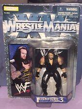 NEW WWF Wrestlemania XV Signature Series 3 UNDERTAKER Action Figure 1998 JAKKS