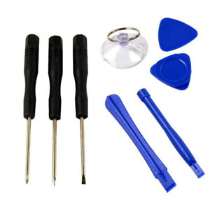 8 In1 Triangle Disassembly Plastic Repair Opening Tool Kit for All phone Setting