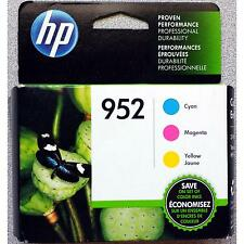 3-PACK HP GENUINE 952 Color Ink (RETAIL BOX) for OFFICEJET PRO 7740 8210 8216
