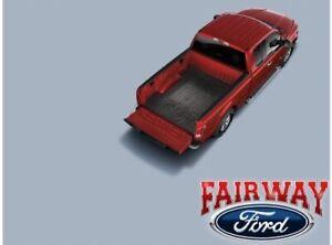 """15 thru 21 F-150 OEM Genuine Ford Heavy Duty Rubber Bed Mat w/ """"F-150"""" Logo 5.5'"""