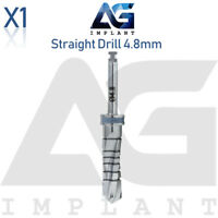 Straight Drill Ø4.8mm External Irrigation Surgical Tools For Dental Implant